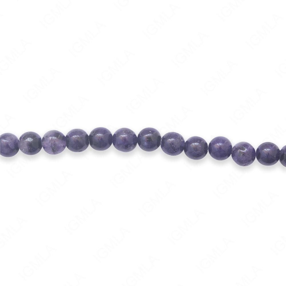 16″ 6mm Lapis Jasper Dyed Round Beads