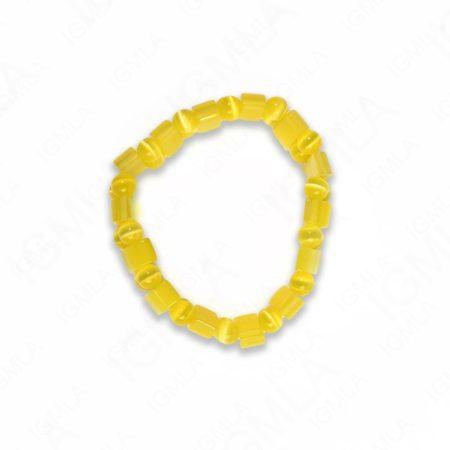 Fiber Optic Yellow Tanker Bracelets