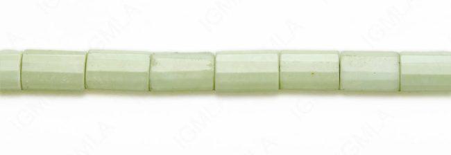 15-16″ 12X18mm Lemon Chrysophrase Rectangle Faceted Beads