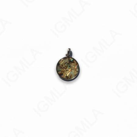 Zinc Alloy Silver Plated Coin Pendants