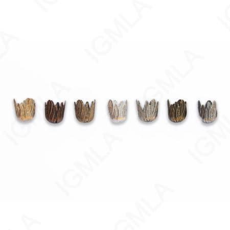 Zinc Alloy Shinny Silver, Gold Matt, Ant Silver, Gold, Burnish Gold, Silver, Copper CAP Tasel