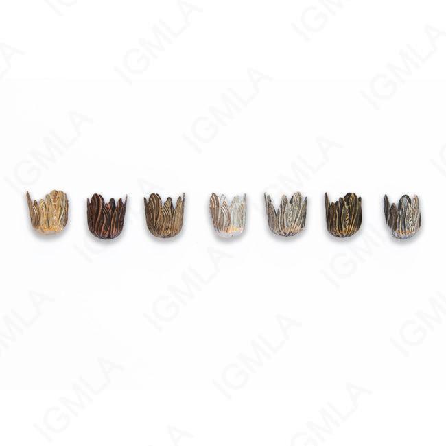 Zinc Alloy Shinny Silver, Gold Matt, Ant Silver, Gold, Burnish Gold, Silver, Copper CAP Tasel