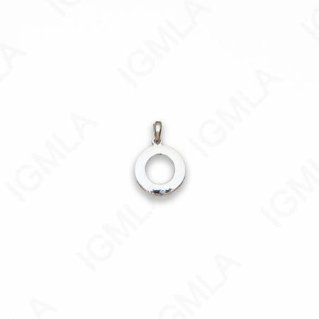 Zinc Alloy Silver Plated with our cabotion round Pendants