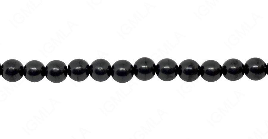 16″ 10mm Shungite Round Beads